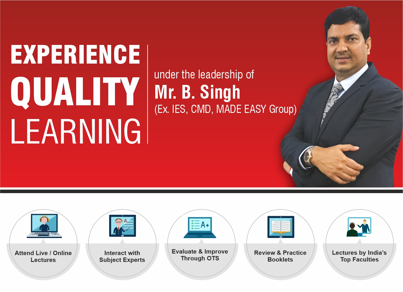 Experience the concept quality learning