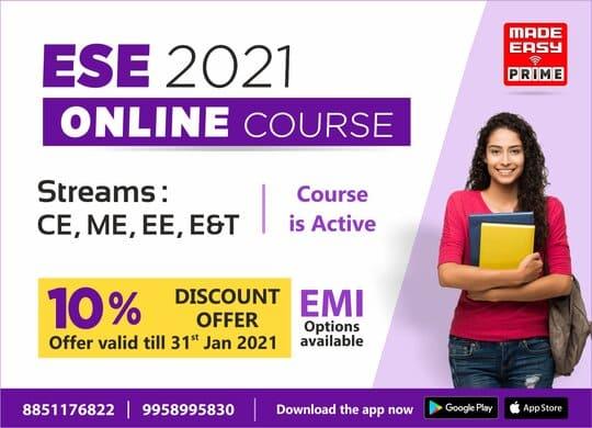 ESE 2021 Online Course